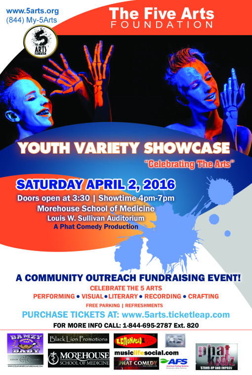 5arts YOUTH SHOW FLYER final
