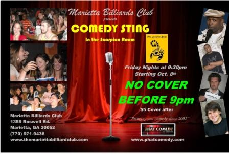 Comedy Sting Flyer 4X6 WEB