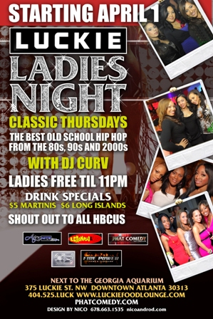 LUCKIE ladies night web