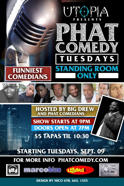 PHATCOMEDY TUESDAY Utopia