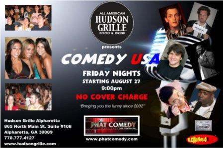 Phat Comedy - Hudson Grill 4x6 WEB