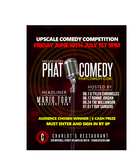 Upscale comedy competition signup