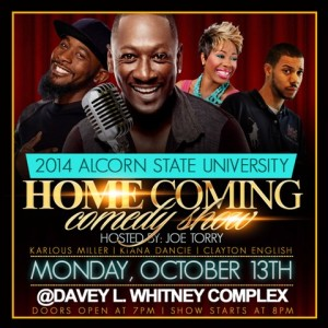 aLCORN STATE u-flyer-comedy-2014 WEB