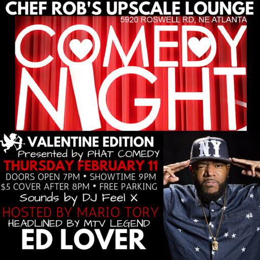 chef Robs Valentine Flyer ED LOVER