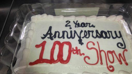 comedy show 100 cake